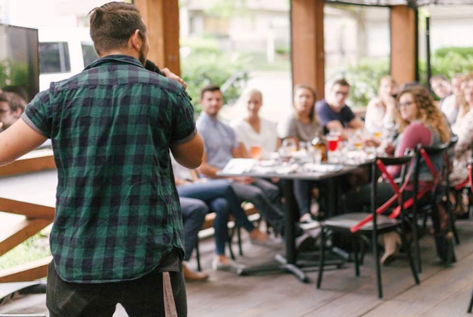 Guter Redner in Meetings werden