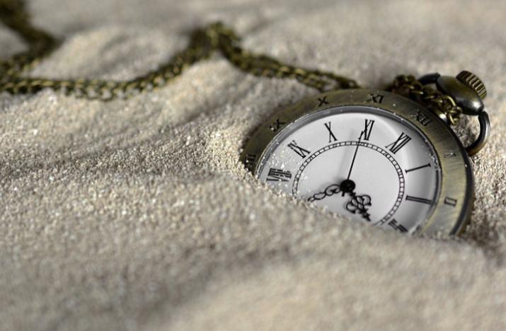 Der Sand ist zum Verschwinden verurteilt